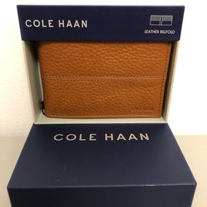 COLE HAAN-Leather Billfold